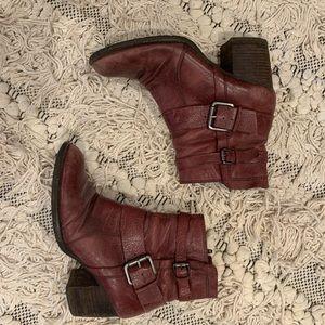 Red Naya Boots